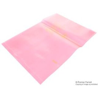DESCO EUROPE (FORMERLY VERMASON) 204075 ANTISTAT. BEUTEL PINK 254MM X 355.6MM