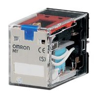OMRON MY4IN 24DCS RELAIS, 4PDT, 250VAC, 30VDC, 5A