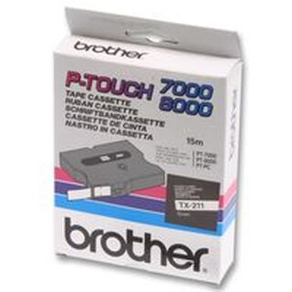 BROTHER TC691 TAPE, BLACK/YELLOW 9MM