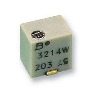 BOURNS 3214W-1-502E TRIMMPOTENTIOMETER 5K 10%, 5-GANG, SMD