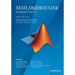 THE MATHWORKS 978-0-9896-140-23 MATLAB/SIMULINK, STUDENT SUITE, 1 USER