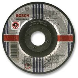 BOSCH 2608600318 CUTTING DISC, FOR METAL, FLAT, 115MM